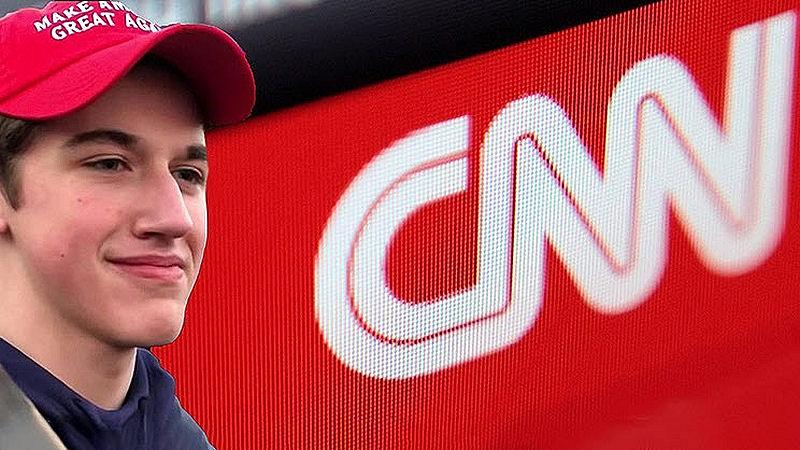 Nick Sandmannam Files $275M Lawsuit Against CNN