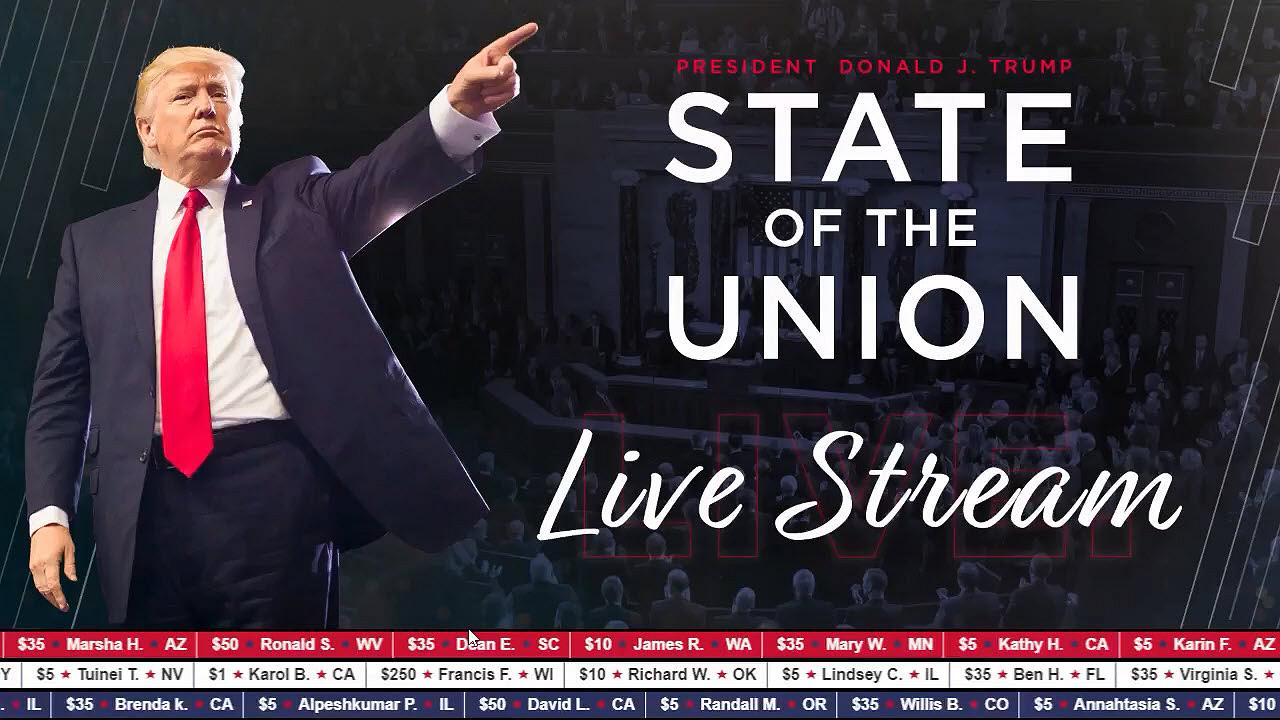 State Of The Union Address 2019 America's Roaring Trump Economy