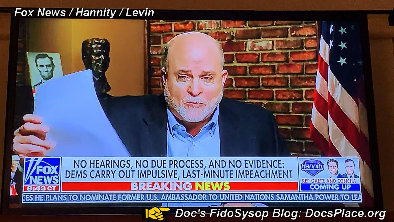 Mark Levin Exposes Nancy Pelosi Sham Impeachment Of President Trump