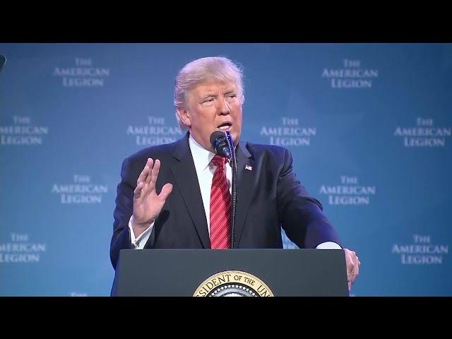 Donald Trump Speech American Legion Convention Reno NV