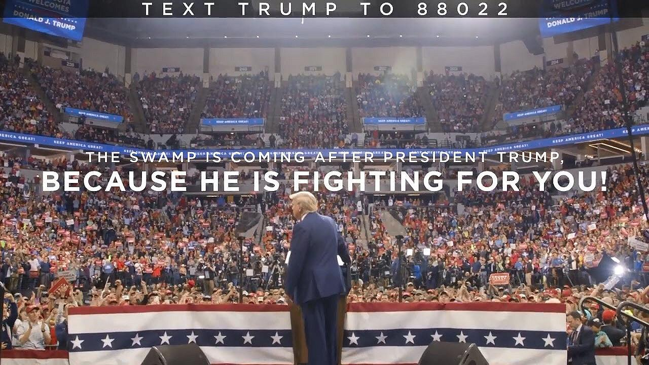Stand With President Trump Don't Let Democrats Destroy America!