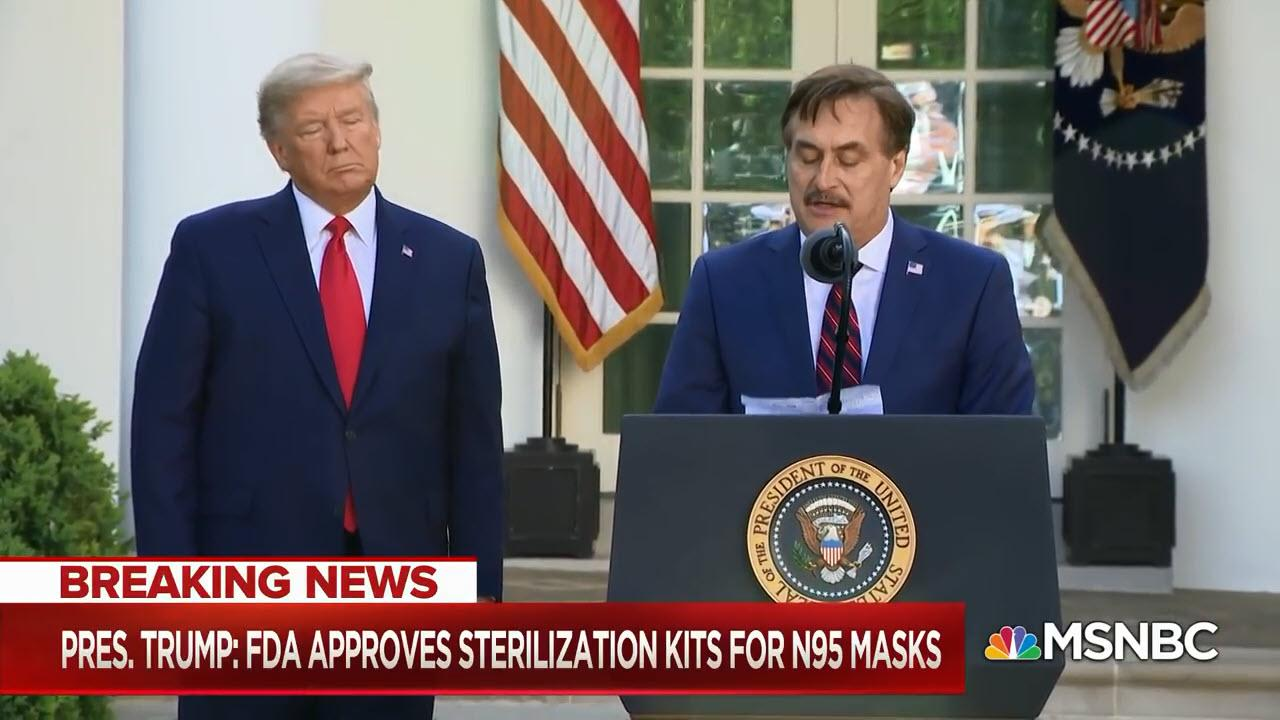Mike Lindell Speech At The White House CoronaVirus Task Force